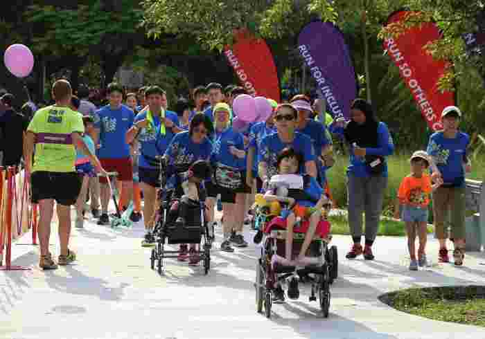 Run For Inclusion 2020: Run Alongside Runners With Special Needs