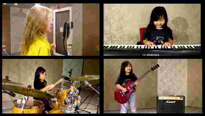 Cover of Sweet Child O' Mine by Singapore Girl, 7, and Actress Eleanor Lee Goes Viral