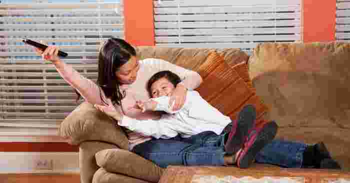 Study Shows Parents May End Up MORE Stressed When Their Kids Watch A Lot of TV