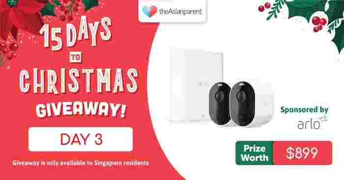 theAsianparent's 15 Days To Christmas Giveaway 2020: List Of Amazing Prizes To Be Won