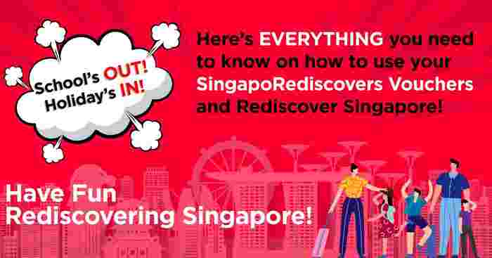 How To Use Your SingapoRediscovers Vouchers: A Guide For Families