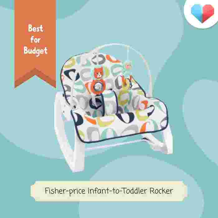 Fisher-PriceFisher-Price Infant-to-Toddler Rocker: Best Baby Rocker for Budget