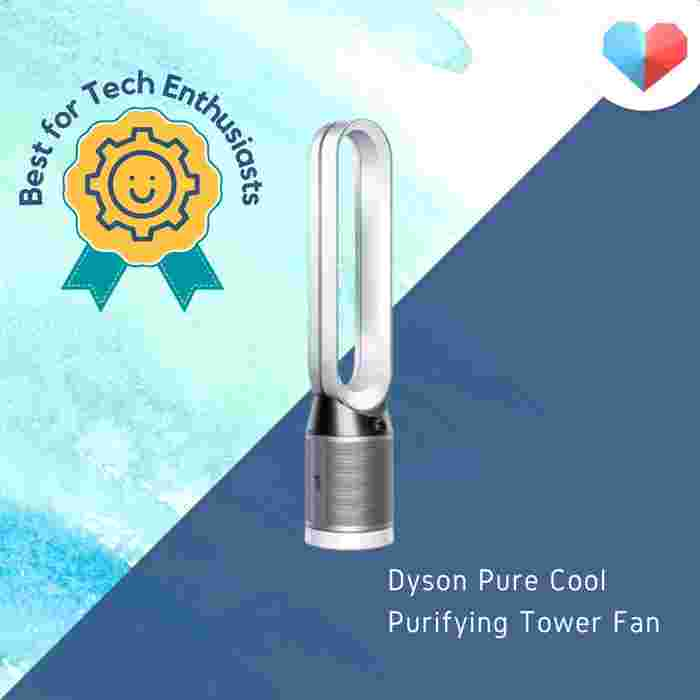 Best air purifiers in Singapore - Dyson Pure Cool Purifying Tower Fan