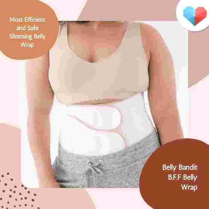 Belly Bandit B.F.F. Belly Wrap: Most Efficient and Safe Slimming Belly Wrap