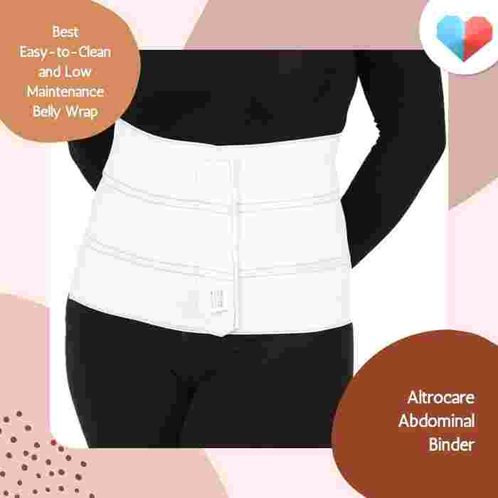 Altrocare™ Abdominal Binder - Best Easy-to-Clean and Low Maintenance Belly Wrap