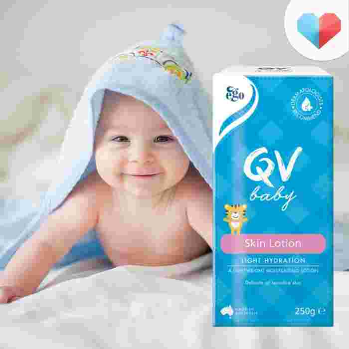 Best moisturising lotion babies with dry or sensitive skin