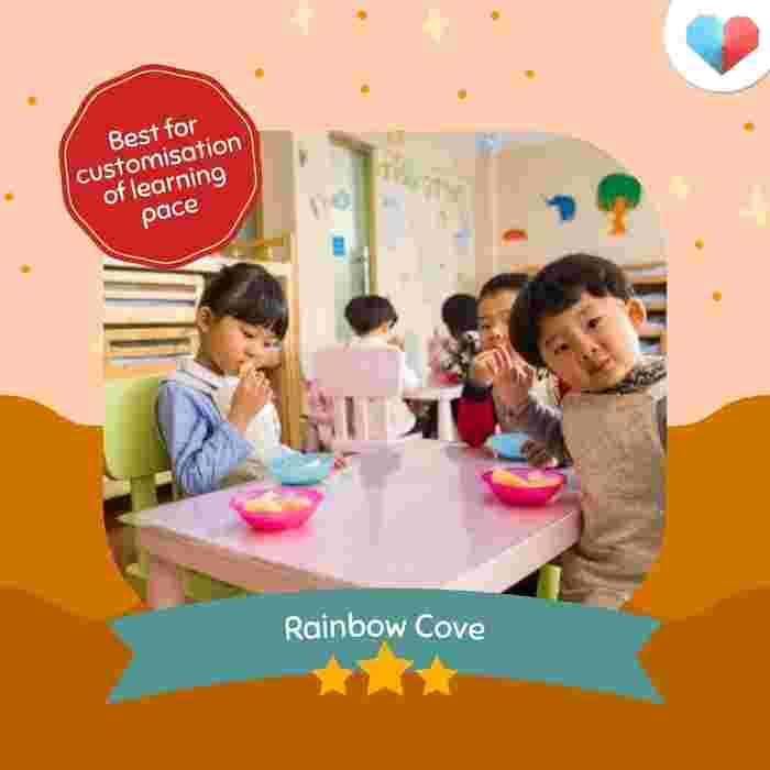 Rainbow Cove - Best for customisation of learning pace