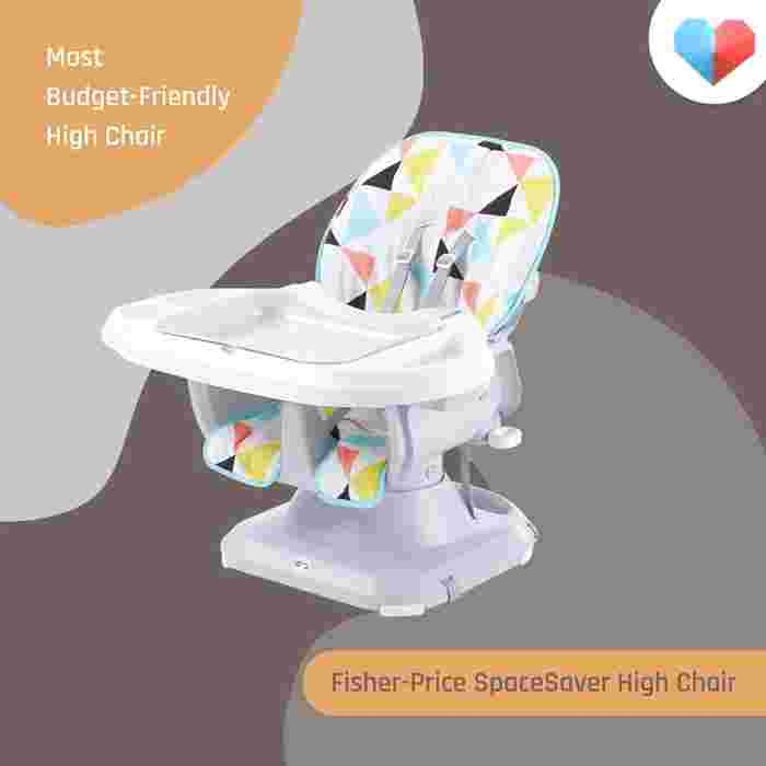 Fisher-Price SpaceSaver High Chair: Most Budget-Friendly High Chair