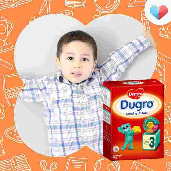 Best stage 3 formula in Singapore- Dumex Dugro Stage 3 Growing Up Baby Milk