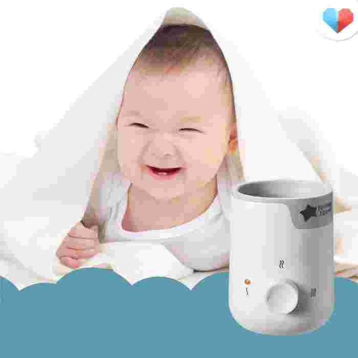 Best bottle warmers in Singapore - Why it's great:  Spend more quality time with your baby while this one-dial operation bottle warmer warms food and milk for you in just 4 minutes. While the gentle warming feature ensures that all nutrients are retained, the temperature-control settings help avoid overheating. With just the press of a button, you can now warm milk more easily than before.  Features we love:  One-dial operation for ease of use  4 minutes heating time  Prevents overheating  Comes with a heat and defrost feature  Safe, BPA-free, modern and compact design