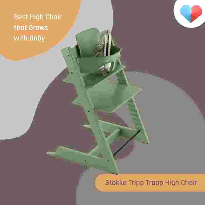 Stokke Tripp Trapp Chair: Best High Chair that Grows With Baby