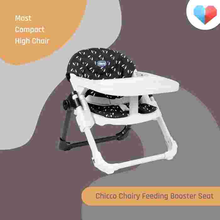 Chicco Chairy Feeding Booster Seat: Most Compact