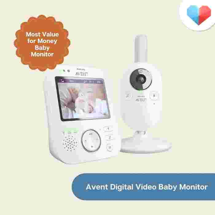 PHILIPS AVENT Digital Video Baby Monitor: Most Value for Money Baby Monitor