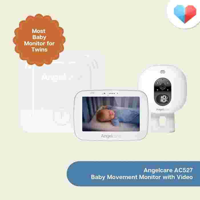 Angelcare AC310-2 Baby Monitor: Best Baby Monitor for Twins