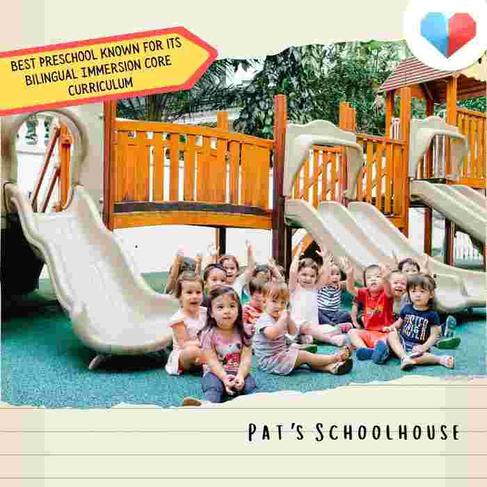 Pat's Schoolhouse - Best Preschool known for its Bilingual Immersion Core Curriculum