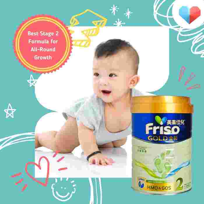 Frisolac Gold Follow On Formula - Best Stage 2 Formula for All-Round Growth