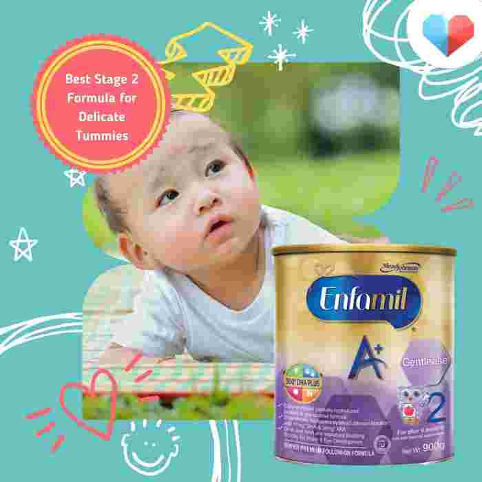 Enfamil A+ Gentlease Stage 2 - Best Stage 2 Formula for Delicate Tummies