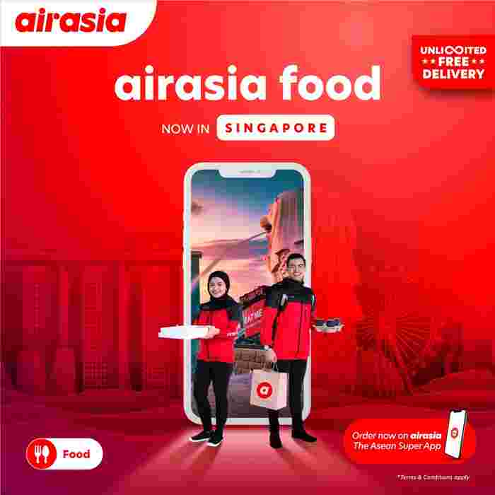 airasia food Kicks Off In Singapore With Unlimited Free Delivery