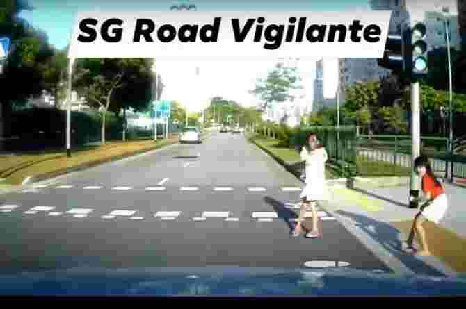 safety rules on road with pictures