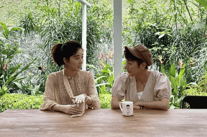 Eleanor Lee On Hosting With Mum Quan Yi Fong: I Couldn't Be Playful Because The Guests Are Her Friends