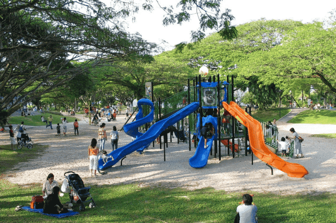 parks in singapore