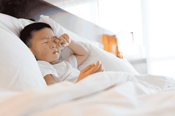 sleeping problems in child