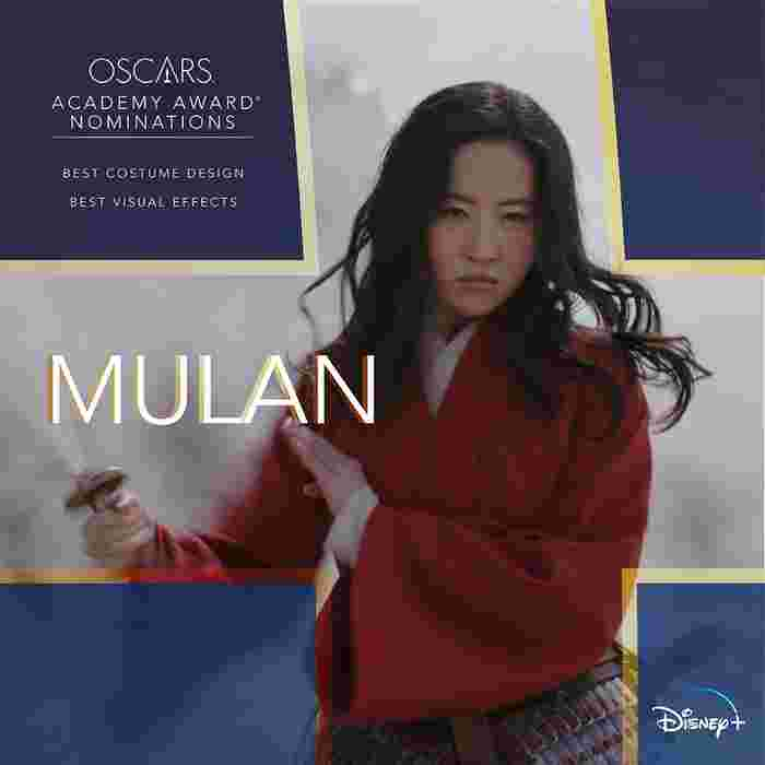 Disney+ Singapore Presents 2021 Oscars® Nominees From The Walt Disney Company And The Best Of Past Winners