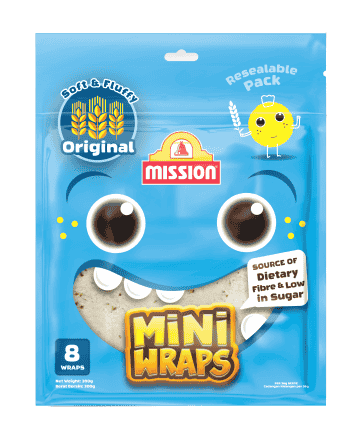 Introducing Mission Foods' New Mini Wraps – Mini-sized Wraps For Your Mini-me