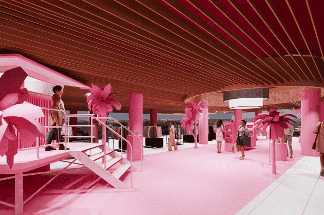 Museum Of Ice Cream Paints Design Orchard Pink In A Sneak Preview Of Its Imaginative Experience