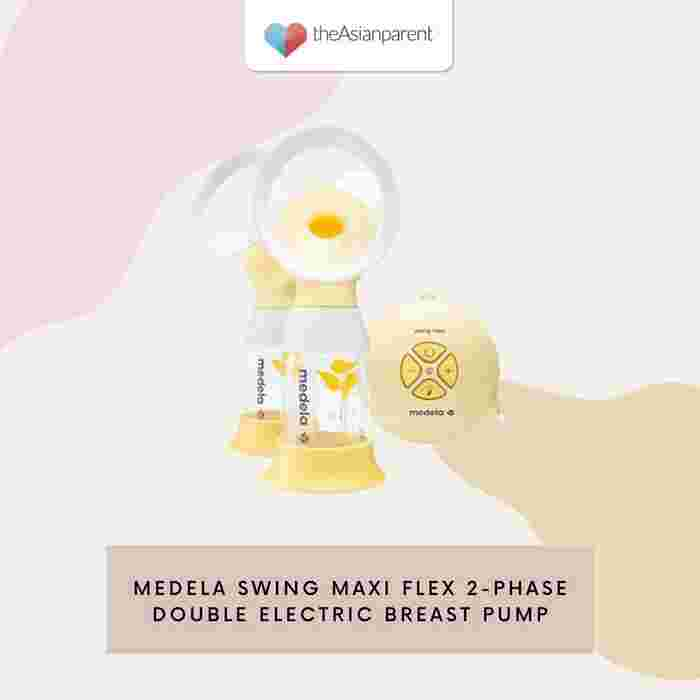 Medela Swing Maxi Flex 2-Phase Double Electric Breast Pump: Best for working mothers