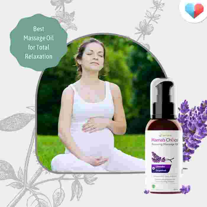 Mama's Choice Relaxing Massage Oil- Best massage oil for total relaxation
