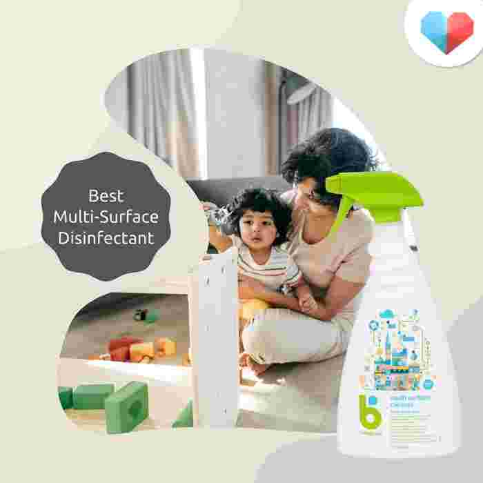 Babyganic Multi Surface Cleaner: Best multi-surface disinfectant