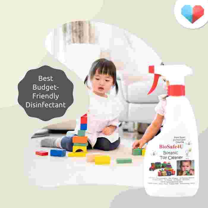 BioSafe4U Toy Cleaner: Best budget-friendly disinfectant