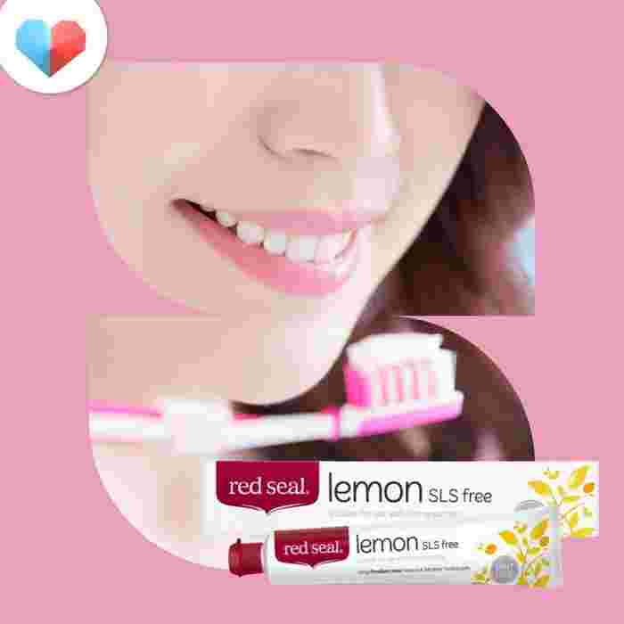 Red Seal Lemon Toothpaste - Best Natural Pregnancy Toothpaste