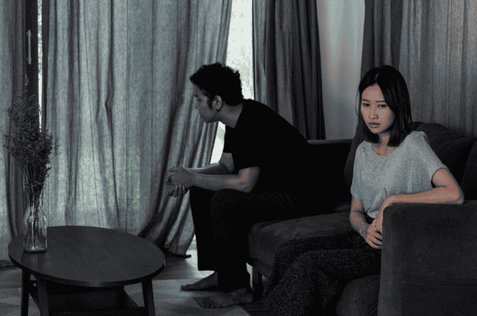 being unhappy in a marriage