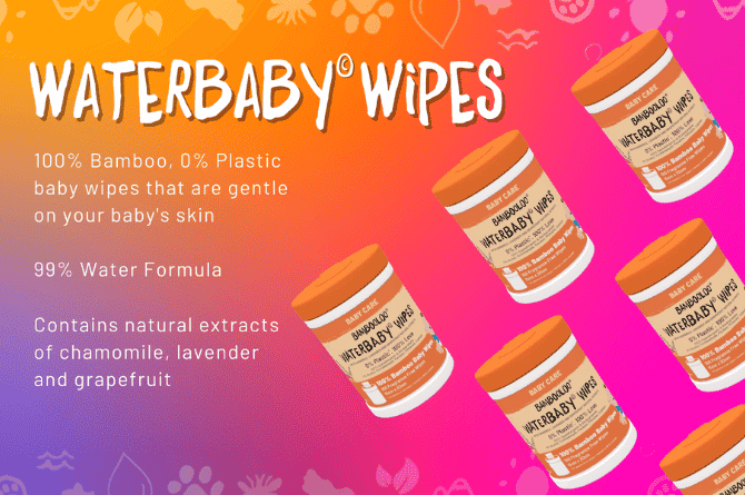 Bambooloo's WaterBaby Wipes