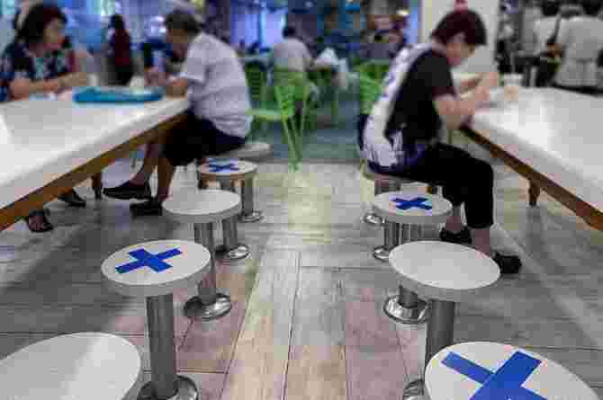 Singapore Dining Restrictions