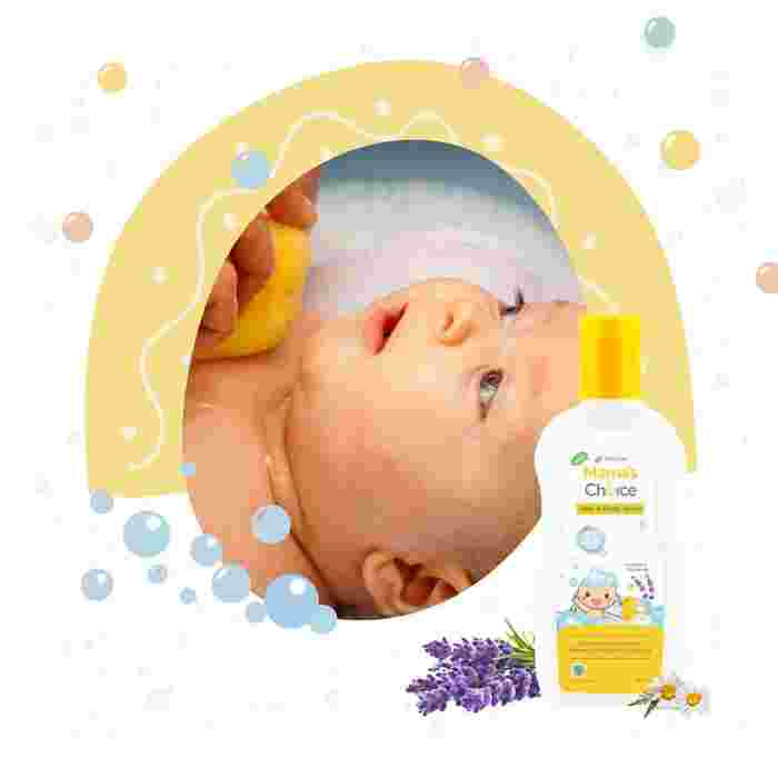 Mama's Choice Baby Hair and Body Wash - Best Relaxing Baby Body Wash