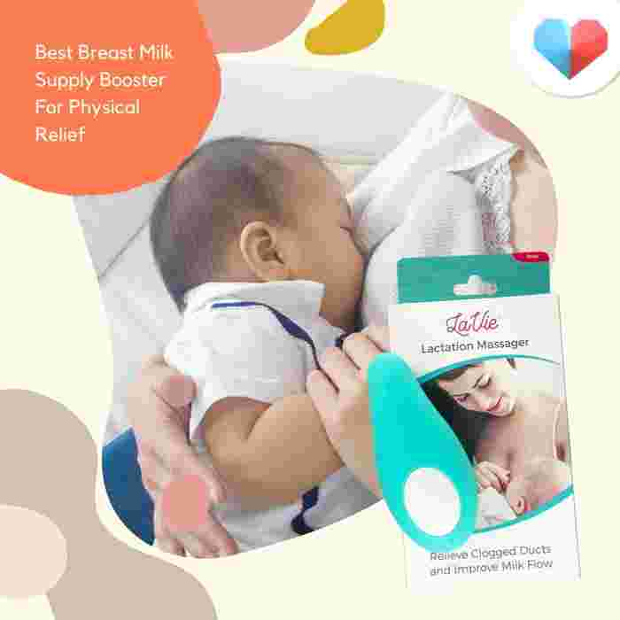 LaVie Lactation Massager - Best Breast Milk Supply Booster For Physical Relief