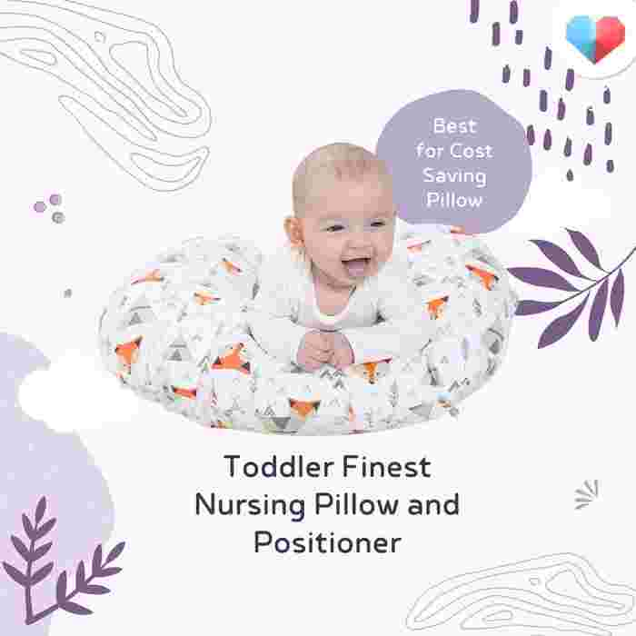 Best for Cost Savings Pillow: Toddler Finest Nursing Pillow and Positioner