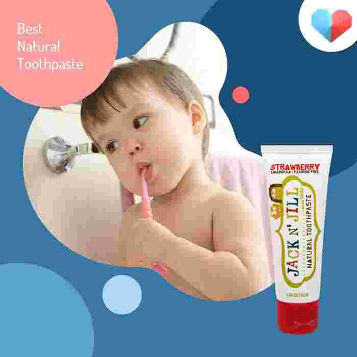 Jack N Jill Natural Toothpaste - Best Natural Toothpaste