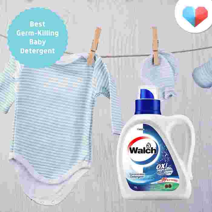 Walch Antibacterial Concentrated Laundry Detergent - Best Germ-Killing Baby Detergent