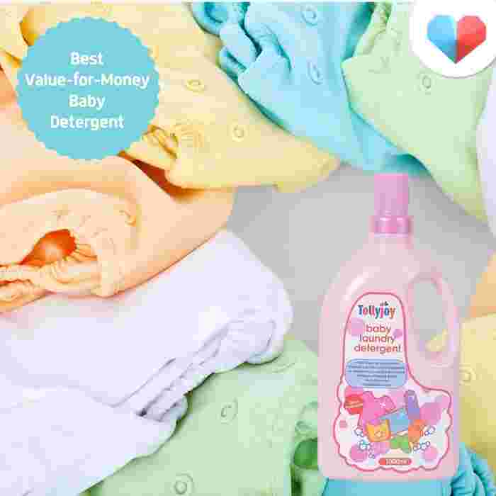 Tollyjoy Baby Laundry Detergent - Best Value-for-Money Baby Detergent