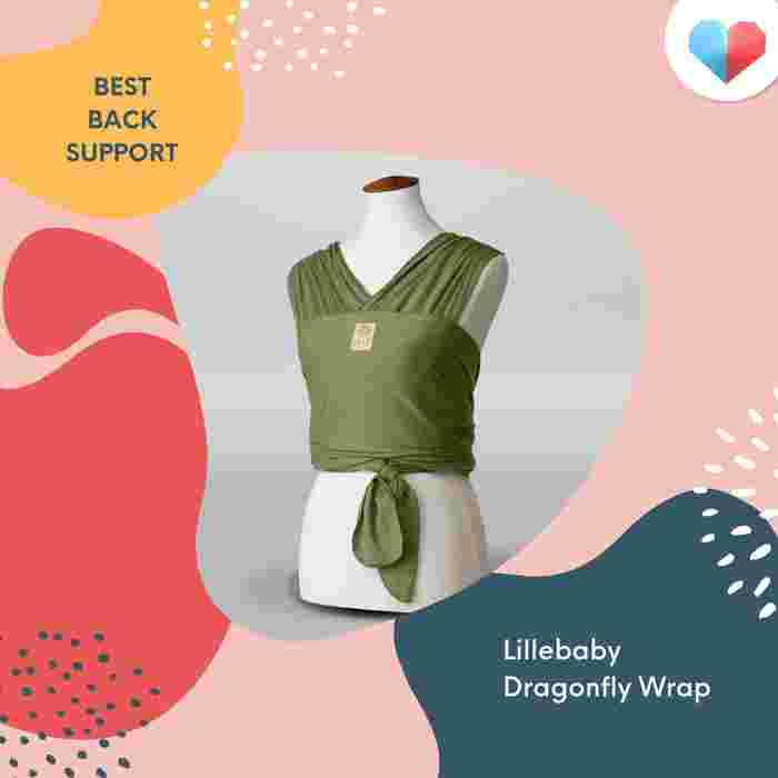 Lillebaby Dragonfly™ Wrap: Best Back Support