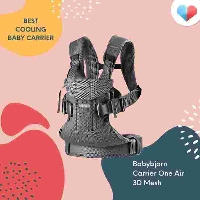 Baby Bjorn Carrier One Air 3D Mesh: Best Cooling Baby Carrier