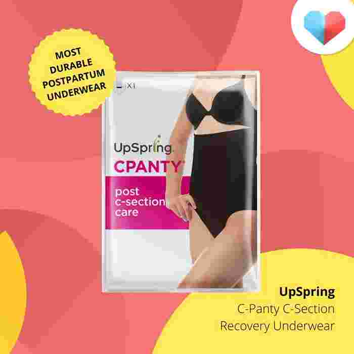 UpSpring C-Panty C-Section Recovery Underwear Review - Most Durable Postpartum Underwear