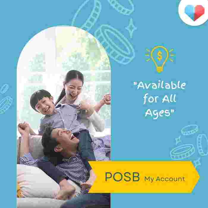 POSB My Account  Available for all ages