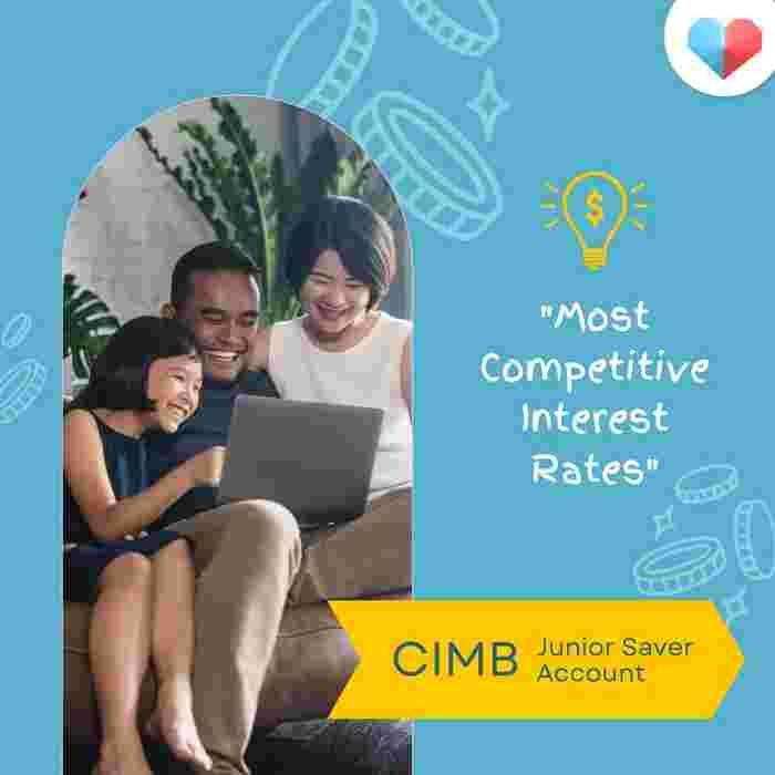 CIMB Junior Saver Account  Junior Savings Account with most competitive interest rates