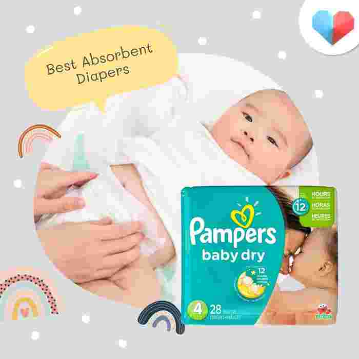 Pampers Baby Dry - Best Absorbent Diapers