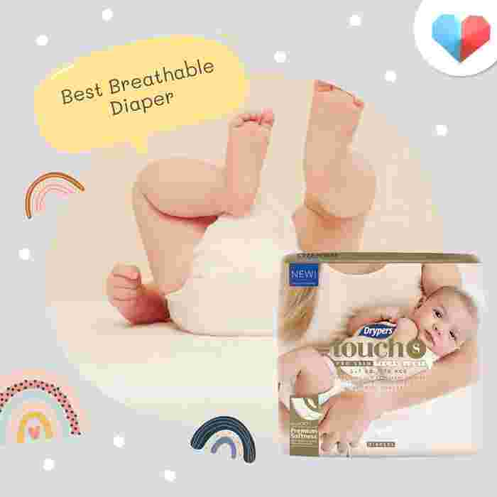 Drypers Touch - Best Breathable Diaper